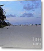 South Beach Metal Print