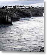 Menorca South Coast In A Stormy Mediterranean Day Metal Print