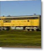South Dakota Central Train Metal Print