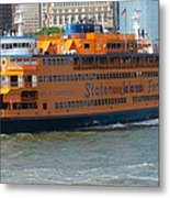 South Ferry Water Ride1 Metal Print