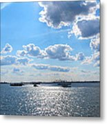 South Ferry Water Ride15 Metal Print