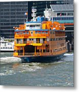 South Ferry Water Ride2 Metal Print