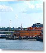 South Ferry Water Ride26 Metal Print