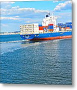 South Ferry Water Ride27 Metal Print