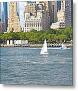 South Ferry Water Ride4 Metal Print