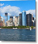 South Ferry Water Ride5 Metal Print