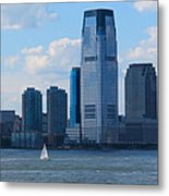 South Ferry Water Ride7 Metal Print