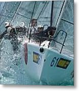 South Florida Regatta Metal Print