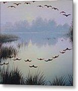 South Lake At Dawn Metal Print