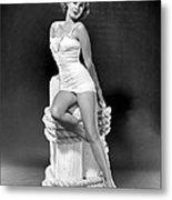 South Sea Woman, Virginia Mayo, 1953 Metal Print by Everett