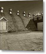 Southampton Potato Barn Metal Print