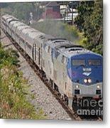 Southbound Amtrak Silver Star Metal Print