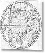 Southern Celestial Map Metal Print