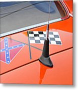 Southern Racing Flags Metal Print