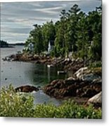 Southport Maine Metal Print