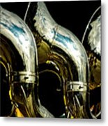 Souzaphones On Parade Metal Print by by Ken Ilio