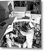 Soviet Almaz Space Station Construction Metal Print