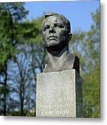 Soviet Monument To Yuri Gagarin Metal Print by Detlev Van Ravenswaay