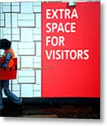Space For A Brolly Metal Print