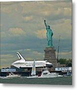 Space Shuttle Enterprise 2 Metal Print