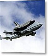 Space Shuttle Enterprise Metal Print