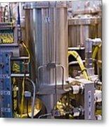 Space Vacuum Test Rig Metal Print by Mark Williamson