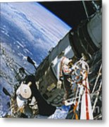 Spacewalk Metal Print