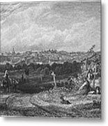 Spain: Madrid, 1833 Metal Print