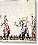 Spain: Medieval Ballgame Metal Print
