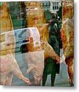 Spain Reflections Metal Print