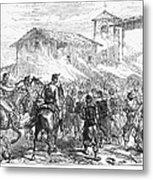 Spain: Second Carlist War Metal Print
