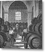 Spain: Winery Metal Print