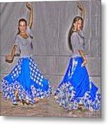 Spanish Dancers Metal Print