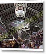 Spanish Market Metal Print by Robert Cabrera
