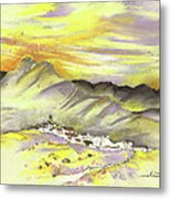 Spanish Mountain Village 01 Metal Print