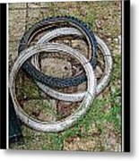 Spare Tires Metal Print