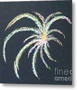 Sparkler Metal Print by Alys Caviness-Gober