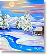 Sparkling Winter Metal Print