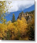 Spearfish Canyon Fortress In Rock Metal Print
