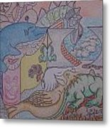 Species We Are Time Is Our Fault Metal Print