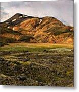 Spectacular Landmannalaugar Metal Print