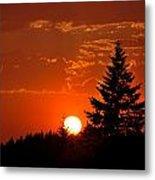 Spectacular Sunset II Metal Print