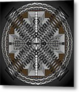 Spectral Formations Metal Print