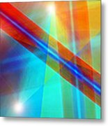 Spectrum Correction Metal Print
