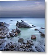 Speke's Mill Mouth Metal Print