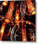 Spherical Lamps Metal Print