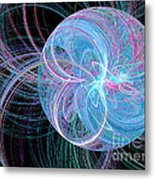 Spherical Symphony Metal Print