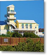 Spi Birding Center From The Boardwalk Metal Print