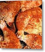 Spicy Chicken Metal Print