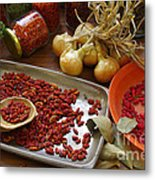 Spicy Still Life Metal Print